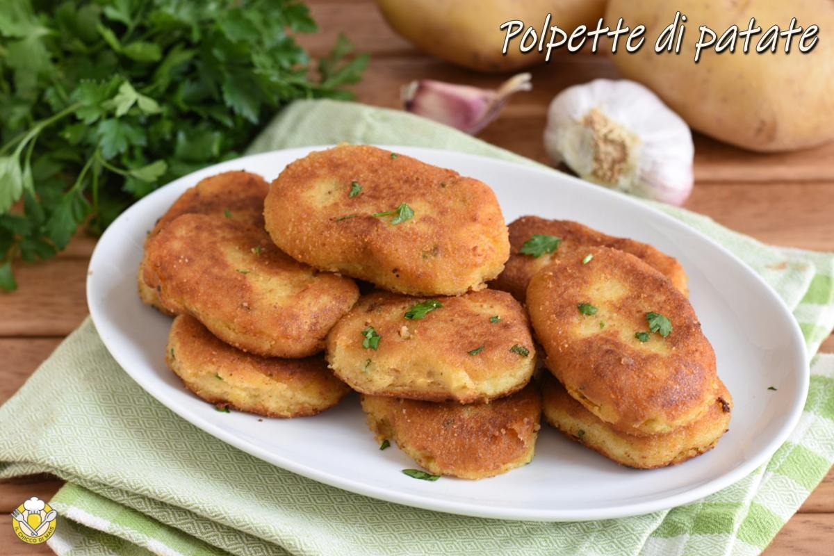polpette di patate siciliane ricetta originale crocchette fritte che non si rompono il chicco di mais