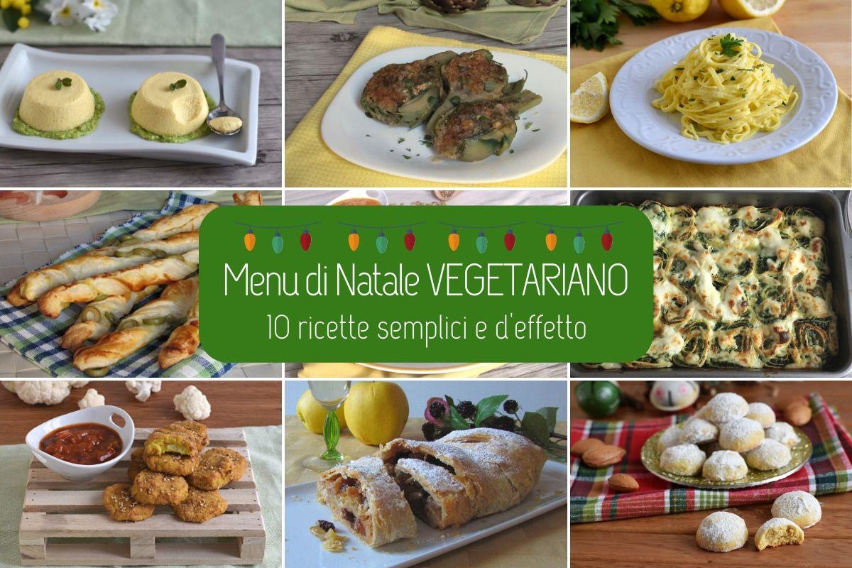 Antipasti Vegetariani Di Natale.Menu Di Natale Vegetariano 10 Ricette Semplici E D Effetto Il Chicco Di Mais