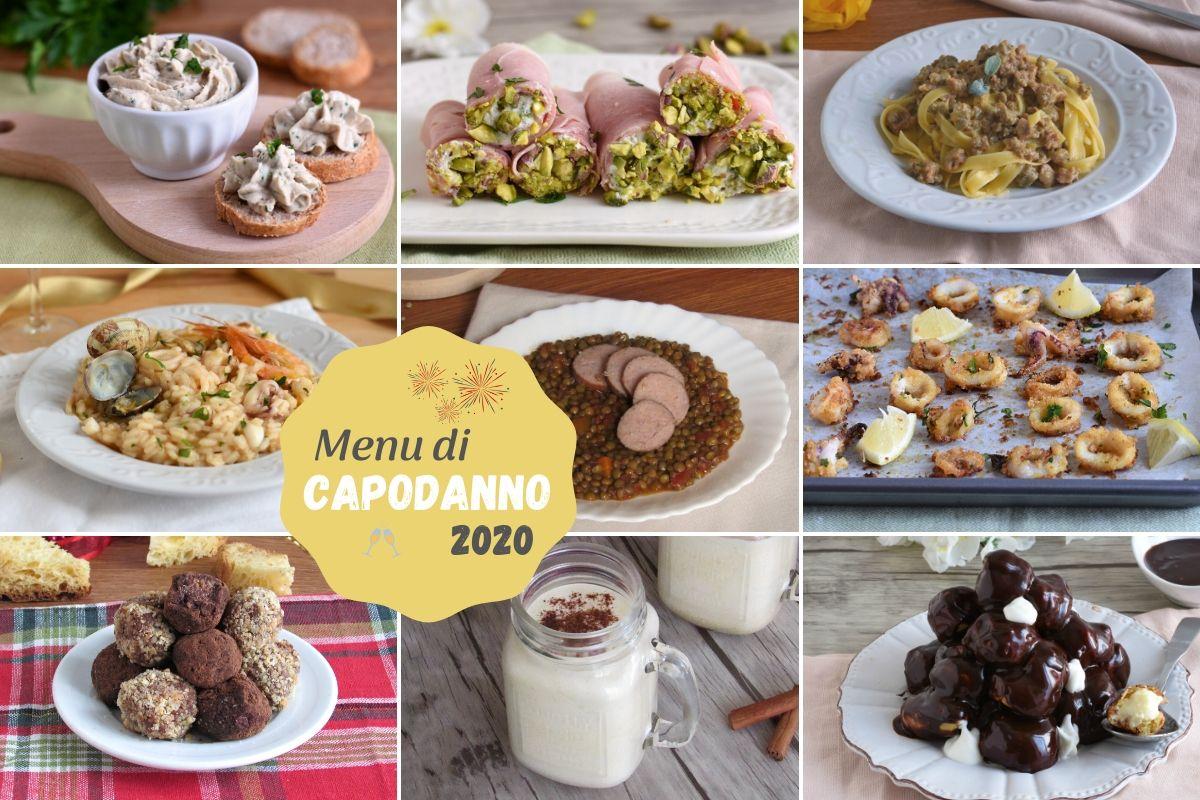 Menu di capodanno 2020 12 ricette facili di carne e di pesce per il cenone della sera di san silvestro dall'antipasto al dolce il chicco di mais