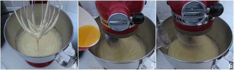 ciambella arancia e cioccolato soffice ricetta dolce di natale versato facile e veloce il chicco di mais 2 montare uova e zucchero