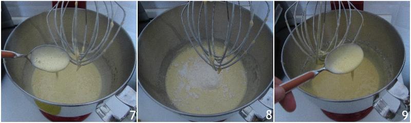 ciambella arancia e cioccolato soffice ricetta dolce di natale versato facile e veloce il chicco di mais 3 unire la farina