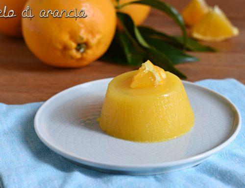 Gelo di arancia siciliano