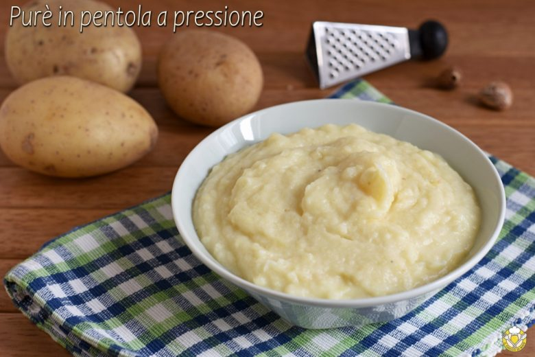 Purè di patate in pentola a pressione