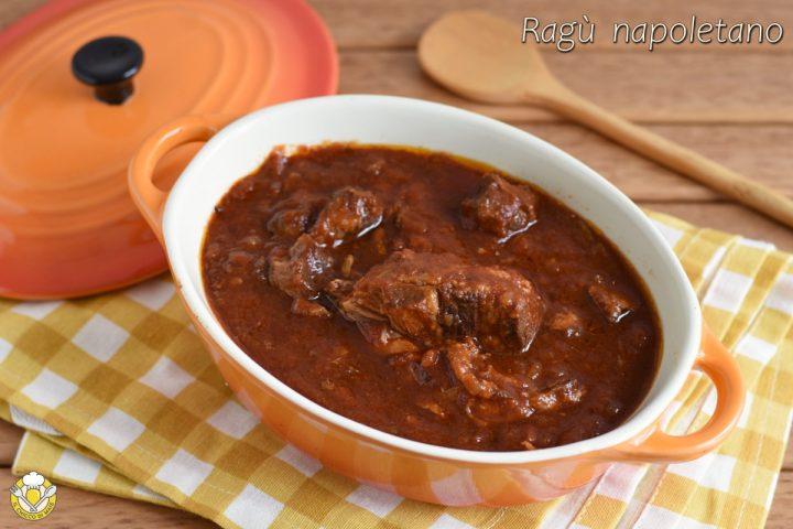 ragù napoletano nella slow cooker ricetta passo passo con carne e costine di maiale il chicco di mais