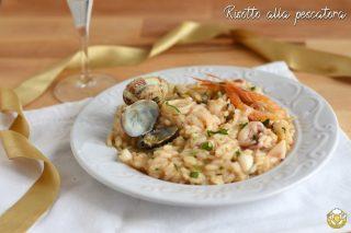 risotto alla pescatora ricetta classica con frutti di mare e brodo di pesce primi di pesce raffinati il chicco di mais