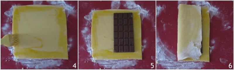 rotolo di frolla al cioccolato con tavoletta avvolta nella pasta frolla ricetta facile e veloce il chicco di mais 2 aggiungere tavoletta di cioccolato