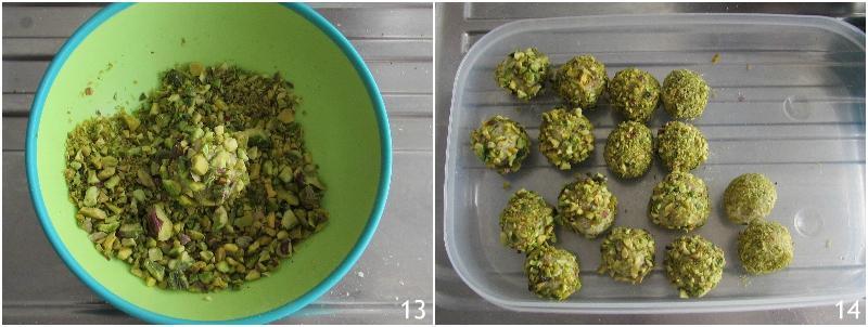 tartufini al pistacchio e cioccolato bianco ricetta palline con ricotta e biscotti secchi il chicco di mais 5 fare tartufini