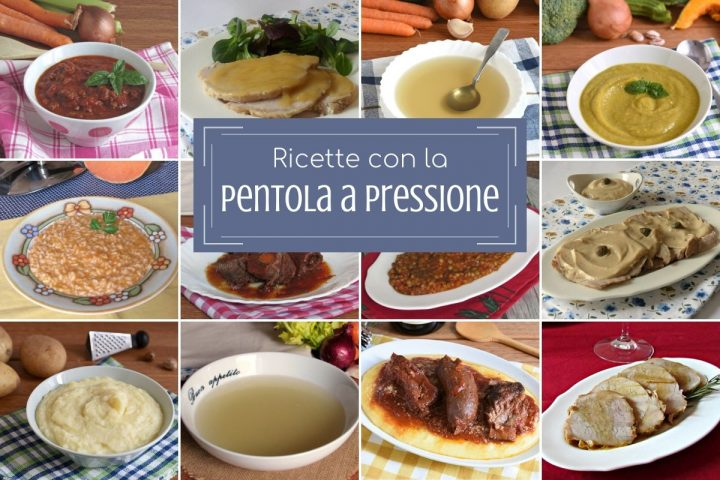 Ricette con la pentola a pressione come cucinare con la pentola a pressione primi secondi contorni sughi e ricette base il chicco di mais