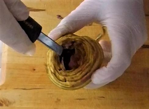 come pulire i carciofi romaneschi mammole violetti cimaroli tutorial con video 14