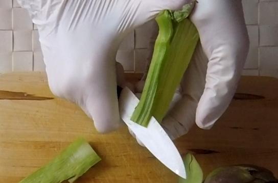 come pulire i carciofi romaneschi mammole violetti cimaroli tutorial con video 2