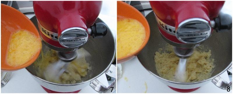 bignè senza glutine ricetta pasta choux glutenfree con farina di riso e fecola con foto passo passo il chicco di mais 3 unire le uova