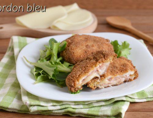 Cordon bleu di pollo con prosciutto e formaggio