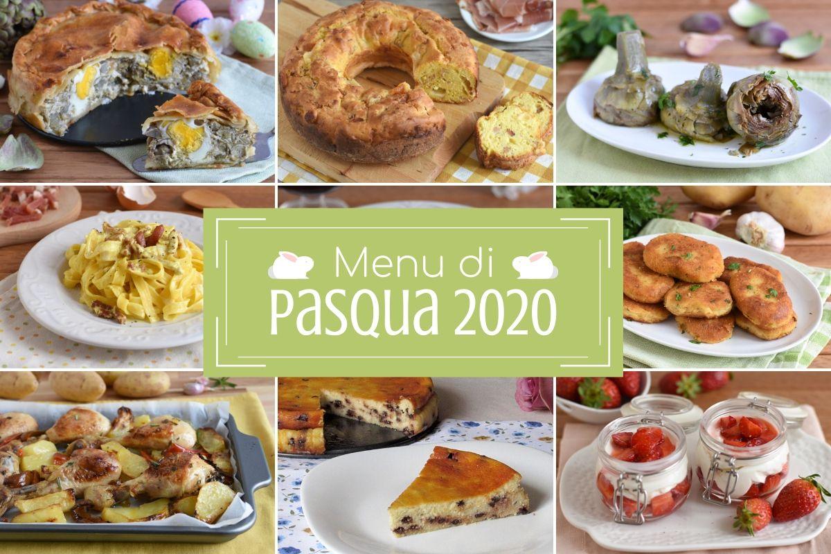 menu di pasqua 2020 ricette facili dall'antipasto al dolce con rustici uova lasagne arrosti torte salate e dessert veloci il chicco di mais
