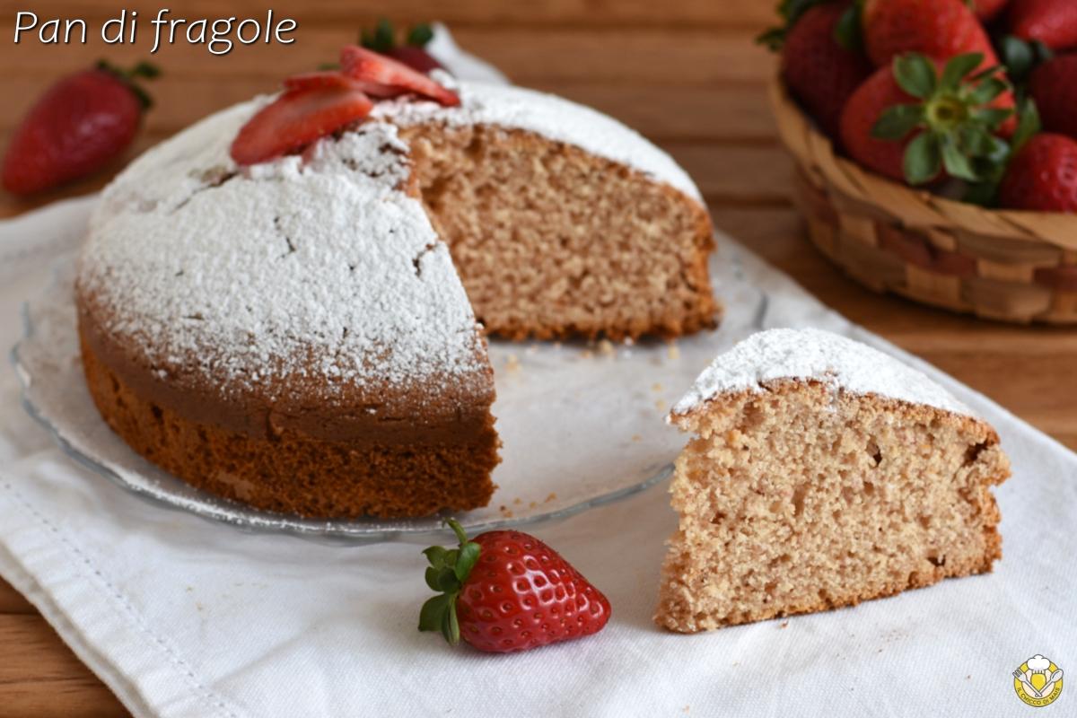 pan di fragole ricetta torta alle fragole frullate soffice e alta il chicco di mais