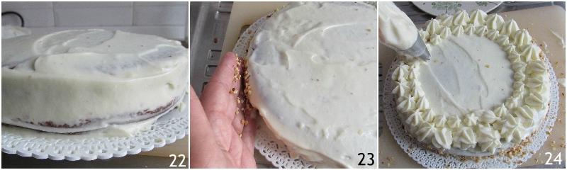 torta al cioccolato bianco e nocciole ricetta torta decorata di compleanno senza farina il chicco di mais 8 decorare la torta