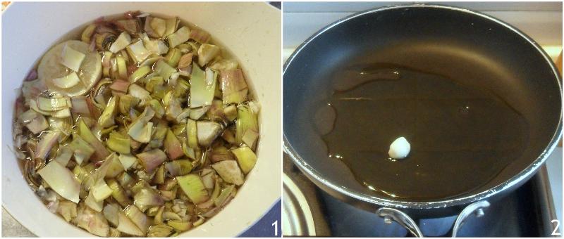 torta pasqualina ai carciofi con uova sode e pasta matta ricetta originale ligure torta salata di pasqua anche senza glutine il chicco di mais 1 pulire i carciofi