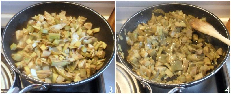torta pasqualina ai carciofi con uova sode e pasta matta ricetta originale ligure torta salata di pasqua anche senza glutine il chicco di mais 2 cuocere i carciofi