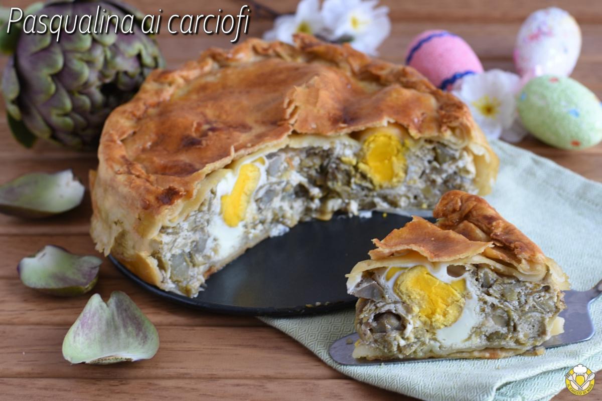 torta pasqualina ai carciofi con uova sode e pasta matta ricetta originale ligure torta salata di pasqua anche senza glutine il chicco di mais