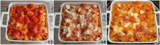 pasta al forno con ricotta e pomodoro ricetta vegetariana facile timballo di pasta senza besciamella il chicco di mais 5 cuocere in forno