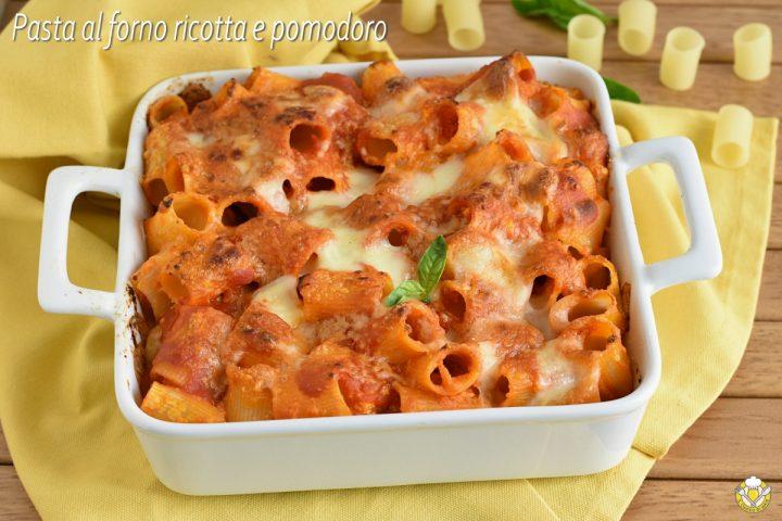 pasta al forno con ricotta e pomodoro ricetta vegetariana facile timballo di pasta senza besciamella il chicco di mais