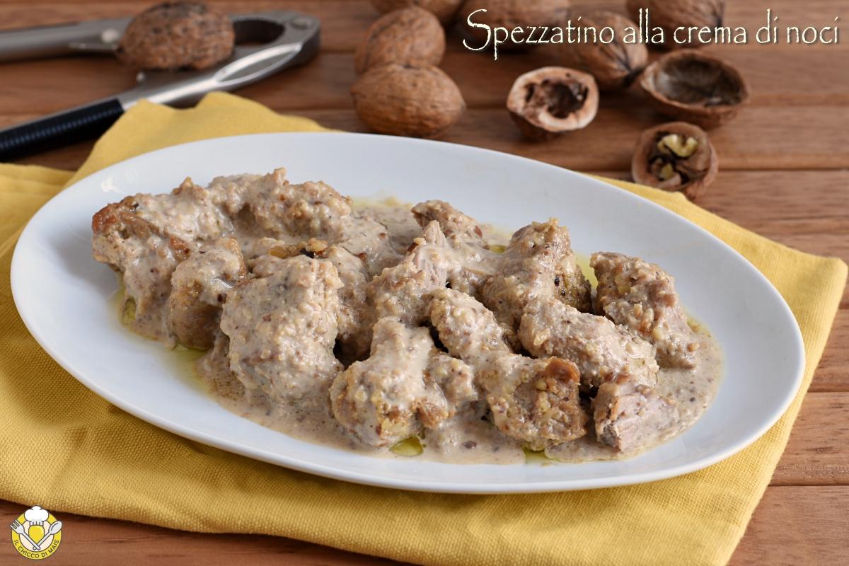 spezzatino alla crema di noci ricetta facile spezzatino di vitello cremoso senza panna senza farina il chicco di mais