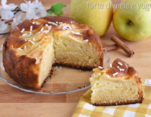 Torta di mele e yogurt