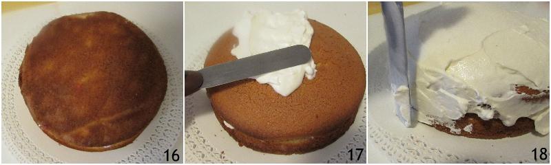 torta panna e fragole ricetta dolce facile torta di compleanno con panna montata senza pan di spagna il chicco di mais 6 coprire la torta