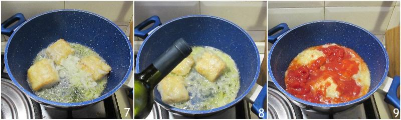 baccalà in umido alla livornese ricetta facile con pomodoro e sugo cremoso il chicco di mais 2 unire il pomodoro