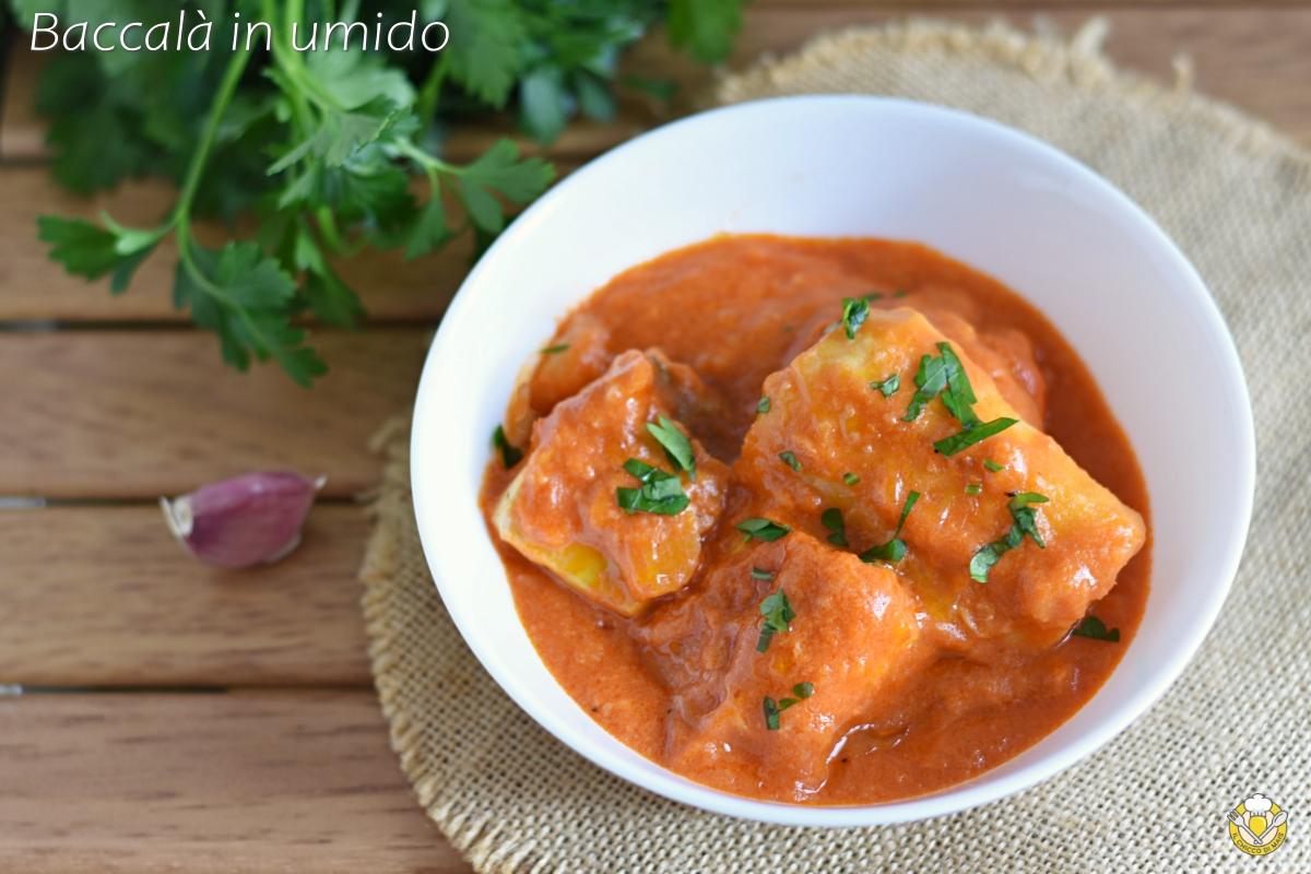 baccalà in umido alla livornese ricetta facile con pomodoro e sugo cremoso il chicco di mais