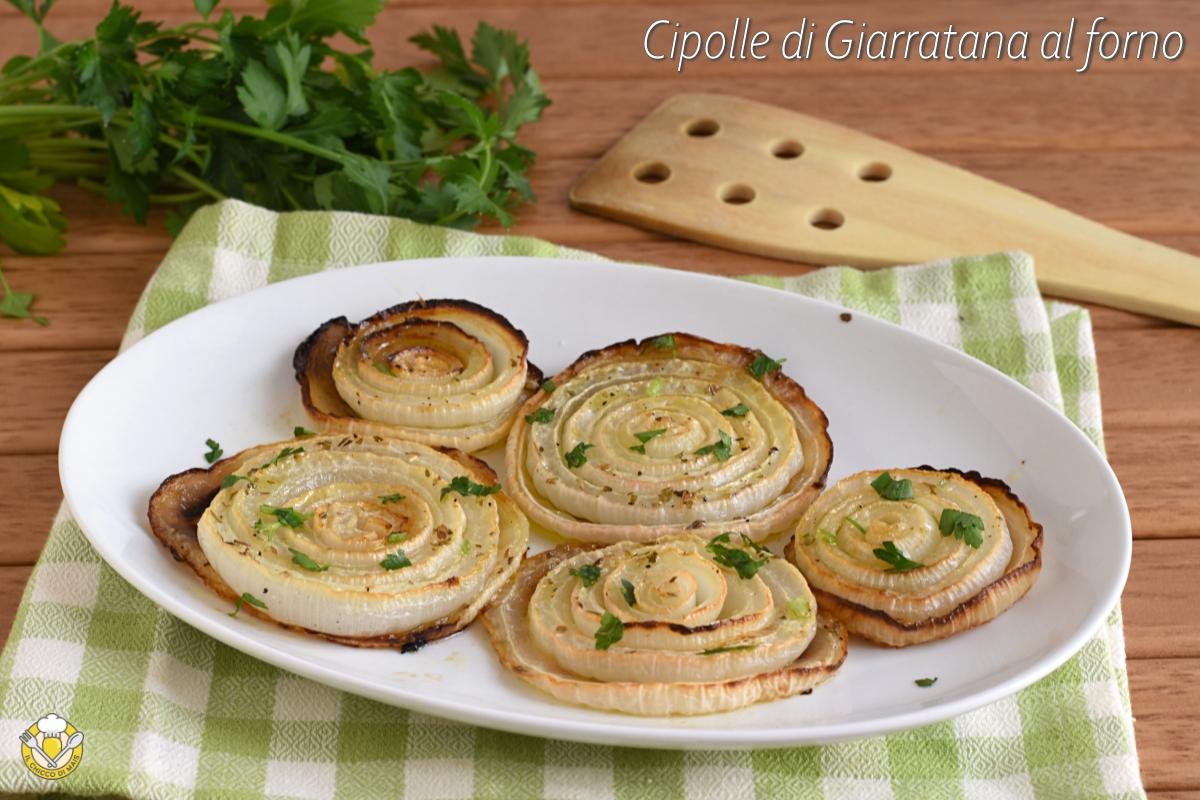 cipolle di Giarratana al forno ricetta facile e gustosa come cucinare le cipolle di Giarratana siciliane di Ragusa il chicco di mais
