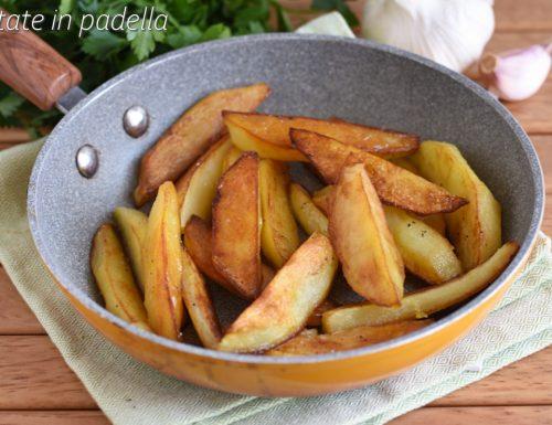 Patate in padella croccanti