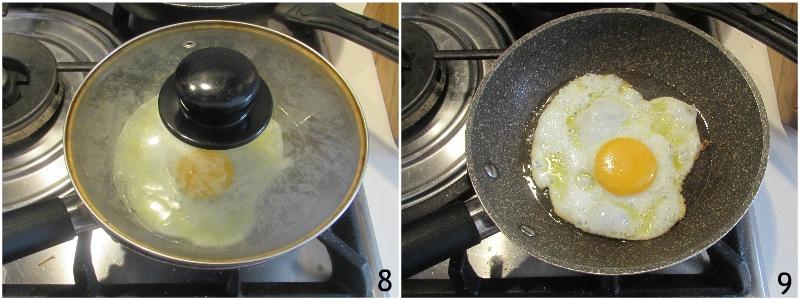 Uova alla messicana huevos rancheros ricetta colazione messicana con tortilla pomodori freschi e avocado il chicco di mais 4 friggere l'uovo