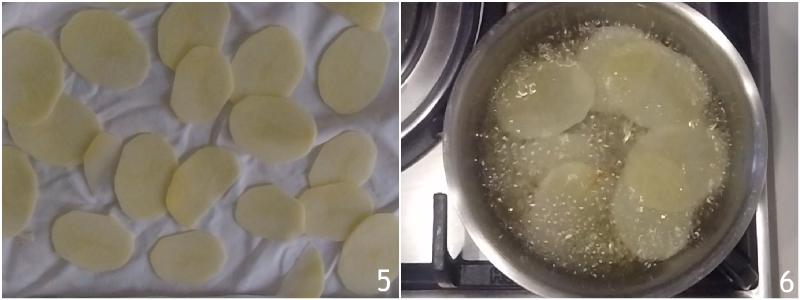 chips di patate fritte a sfoglia fatte in casa trucco per farle croccanti e bollose ricetta il chicco di mais 3 togliere l'amido
