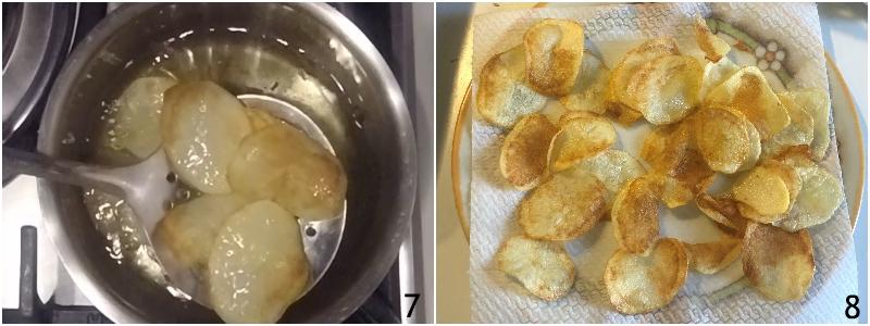 chips di patate fritte a sfoglia fatte in casa trucco per farle croccanti e bollose ricetta il chicco di mais 4 friggere le patate