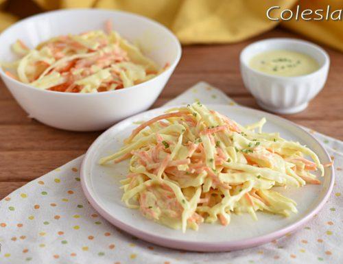 Coleslaw: insalata di cavolo americana