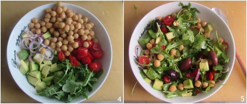 insalata di ceci e avocado ricetta light estiva antipasto o secondo il chicco di mais 2 condire l'insalata