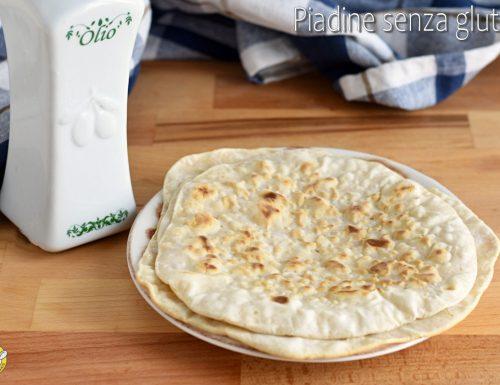 Piadine senza glutine