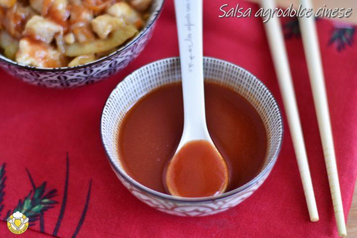 salsa agrodolce cinese ricetta originale salsa rossa densa per involtini primavera e wonton il chicco di mais