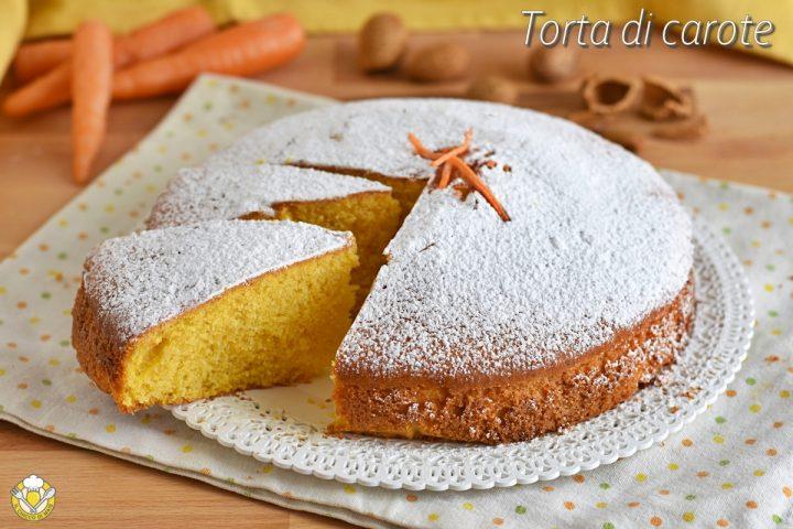 torta di carote e mandorle con yogurt e arancia ricetta dolce soffice genuino anche senza glutine il chicco di mais