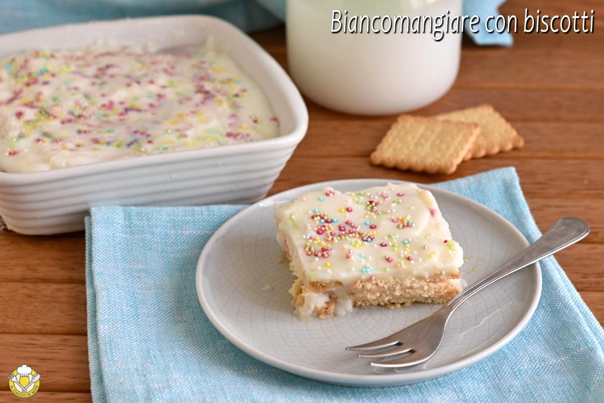 biancomangiare con biscotti a strati ricetta dolce della nonna siciliano con oro saiwa il chicco di mais