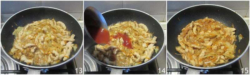 pollo con verdure in agrodolce ricetta pollo cinese facile veloce e cremoso il chicco di mais 5 unire la salsa agrodolce