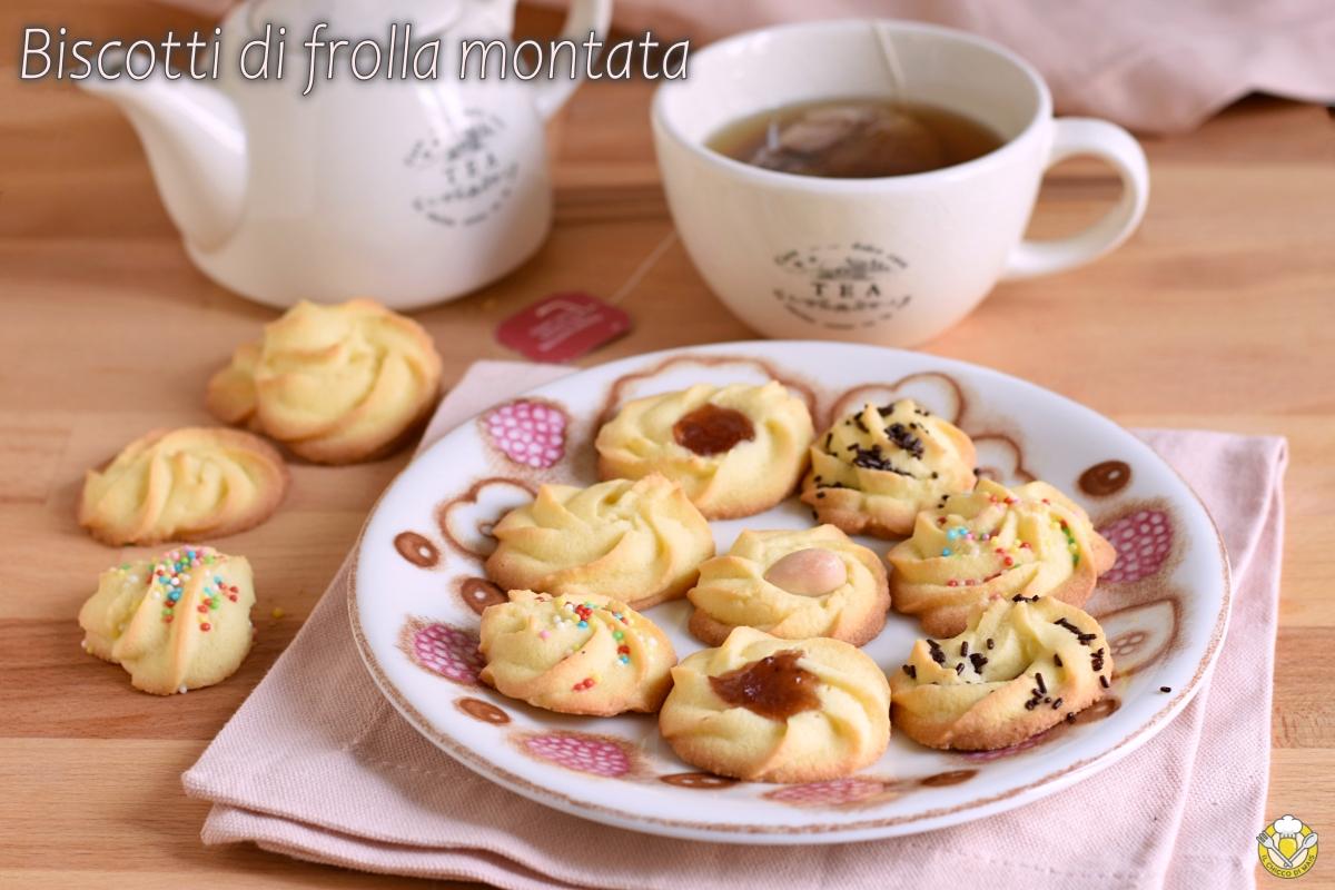 biscotti di pasta frolla montata friabili decorati anche senza glutine per sparabiscotti e sac à poche ricetta il chicco di mais