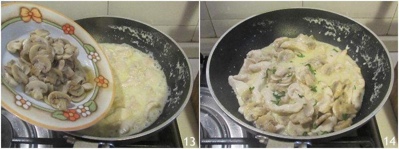 petto di pollo cremoso ai funghi senza panna ricetta facile e veloce il chicco di mais 5 unire i funghi