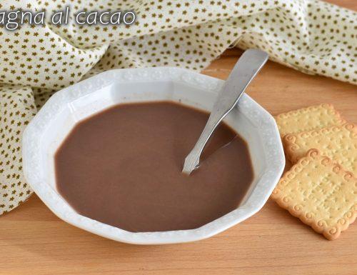 Bagna al cacao analcolica