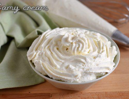 Camy cream: crema al mascarpone senza uova