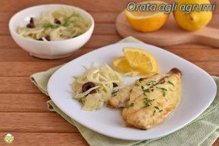 filetti di orata agli agrumi ricetta secondo di pesce facile e sfizioso anche surgelato il chicco di mais