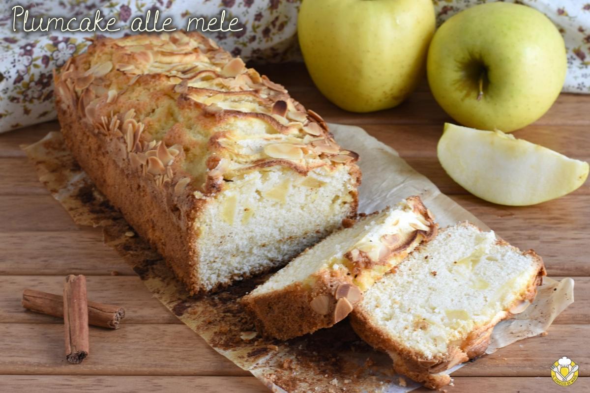 plumcake alle mele e cannella soffice anche senza glutine ricetta facile il chicco di mais