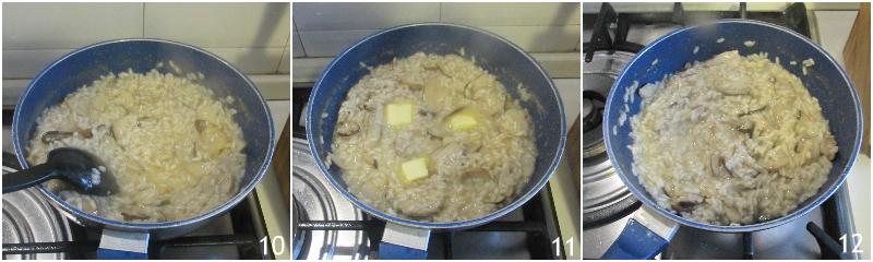 risotto ai funghi porcini freschi surgelati o secchi ricetta perfetta risotto cremoso senza parmigiano il chicco di mais 4 mantecare il risotto