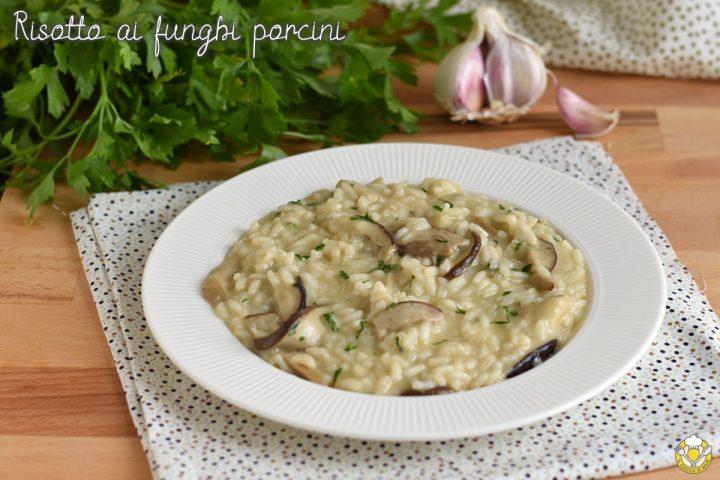 risotto ai funghi porcini freschi surgelati o secchi ricetta perfetta risotto cremoso senza parmigiano il chicco di mais