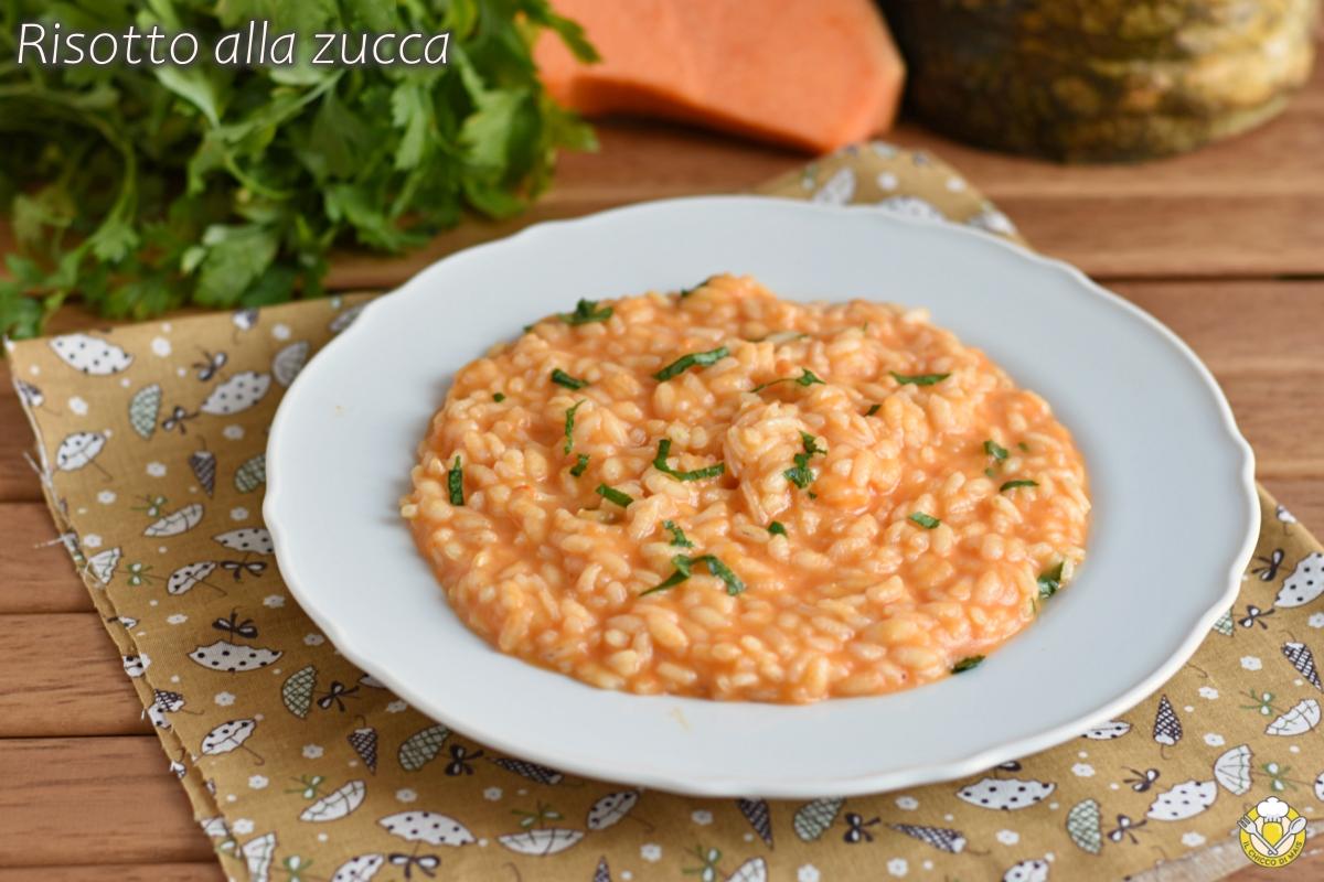 risotto alla zucca classico cremoso ricetta facile con trucchi e consigli il chicco di mais